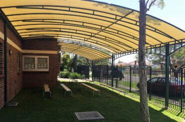 Business & Commercial Pergola Builders Sydney - pioneer shade
